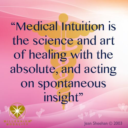 What is Medical Intuition